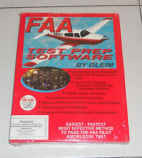 Pc FAA TEST PREP SOFTWARE by GLEIM – NUOVO Mint Version 4.0 Piloti aerei