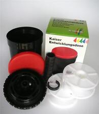 KAISER 4297 UNIVERSAL FILM DEVELOPING TANK WITH TWO REELS DEV TANK 2 SPOOL