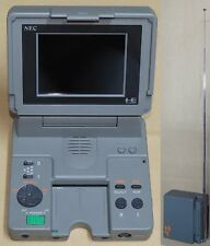 NEC PC Engine LT System Console Japan Laptop PI-TG9 * Working + Great Condition