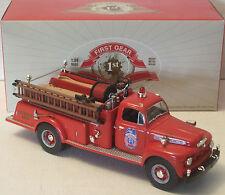 """First Gear 1951 Ford Pumper Firetruck Kentucky 1/34 NEW 8"""" (2 Photos) SN 19-3368"""