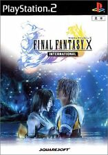 Used PS2 Final Fantasy X International with Bonus DVD Japan Import