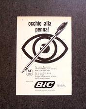 M350 - Advertising Pubblicità - 1960 - BIC , OCCHIO ALLA PENNA