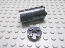 Lego 10 Rundplatten schwarz 2x2x0,33   4032 Set 196 5986 8129 8455
