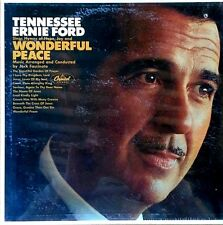 TENNESSEE ERNIE FORD - WONDERFUL PEACE - CAPITOL LP - STILL SEALED
