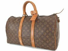 Authentic Vintage LOUIS VUITTON Keepall 45 Monogram Canvas Duffel Bag #24502B