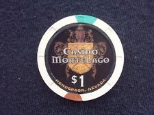 "$1 CASINO CHIP -- CASINO MONTELAGO -- HENDERSON, NEVADA -- ""COLLECTIBLE"""
