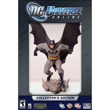 DC Universe Online: Collector's Edition (PC Computer DVD ROM CD Games) NEW