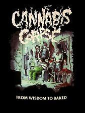 CANNABIS CORPSE cd cvr FROM WISDOM TO BAKED Official SHIRT XL New gwar
