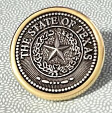 Texas State Seal Hat Pin / Tie Tack Free Shipping