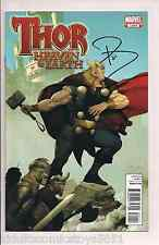 Thor Heaven and Earth #1 Signed by Paul Jenkins W/COA