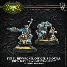 Hordes Trollbloods Pyg Bushwhacker Officer & Mortar Unit Attachment PIP 71093