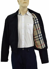 $595 BURBERRY London Black Mens Zip Front Jacket Size M NEW COLLECTION