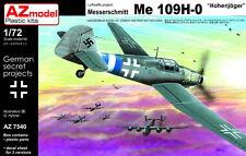 AZ Models 1/72 Kit 7540 Messerschmitt Bf-109H-0 hohenjager