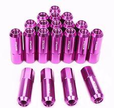 20PCS Purple 60MM M12X1.5 RACING WHEEL LUG NUTS For Honda Toyota