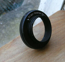 Exakta Topcon reverse ring to 49mm filter coupler ,  japan soligor made