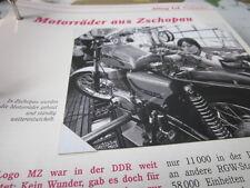 Das war die DDR Alltag Einkaufen Motorräder MZ aus Zschkoppau