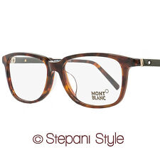 Montblanc Rectangular Eyeglasses MB620F 056 Size: 57mm Havana 620