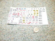 JNJ decals 1/24 1/25 Hoosier Busch Goodyear Unocal STP 76 Prestone etc  K8