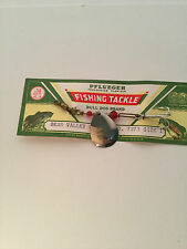 "Vintage, 3.5""  Fishing Pfluger Bear Valley Spinner # 7273 ,W/ Original packaging"