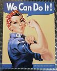 We can do it Frauenpower - Schild Blechschild Blechreklame 41 x 32 cm - 796