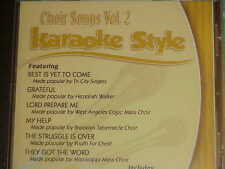 Choir Songs~#2~Christian~Daywind~Karaoke Style ~ Best is Yet to Come ~ CD+G~New