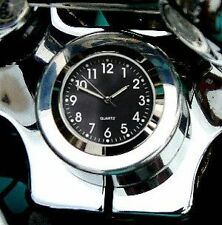 New British Made Harley Heritage / Fatboy FLSTF FLSTC Stem Nut Clock