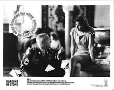 Lot of 5, James Caan, Angelica Huston MINT stills GARDENS OF STONE (1987)Graham