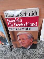 Handeln für Deutschland, von Helmut Schmidt