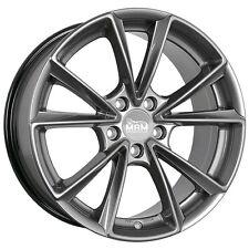 MAM A5 8x18 5x112 ET45 PP palladium silber Alufelge MAMA5 Audi A4 A6 Mercedes 66
