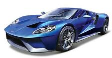 Maisto 2017 FORD GT SILVER BLUE 1:18 DIECAST MODEL