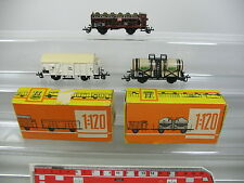 AM15-0,5# 3x Zeuke TT/DC Wagon à marchandises: 545/765 CWFB+545/489