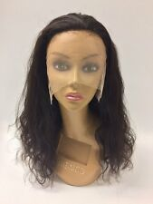 100% Virgin Unprocessed Brazilian Human Hair Lace Front Wig Natural Wave loose