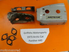 73 74 Arctic Cat Panther 440 T1B440S1A engine tin cover covers cooling shroud