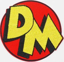 DANGER MOUSE - Character Logo -Embroidered Iron-On Patch No-16