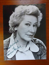 AUTOGRAPH of UNKNOWN Theatre TV ACTRESS Possibly JOYCE TENBY ? 1970s/80s/90s