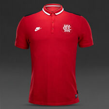 Nike 2014-15 League Manchester Utd Authentic Covert Polo Shirt Red M 618642 687