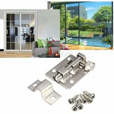 1.5'' Home Door Window Clasp Stainless Steel Security Guard Latch Slide Bolt Mh