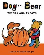 Dog and Bear: Tricks and Treats by Laura Vaccaro Seeger (hardcover)