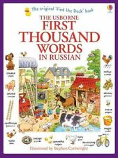 First Thousand Words in Russian by Heather Amery 9781409570165 (Paperback, 2013)