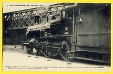 cpa FRANCE Superbe LOCOMOTIVE construite en 1899 pour TRAIN EXPRESS