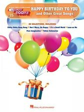 Happy Birthday to You and Other Great Songs Sheet Music E-Z Play Today 000140724