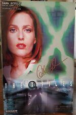 "The X Files SIDESHOW 12"" DANA SCULLY Figure Gillian Anderson Autographed Autopsy"