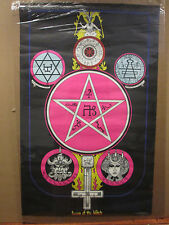 Vintage 1972 Season of the Witch original zodiac occult astrology poster 11739