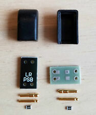 ER4P/ER4S Headphone Cable Plugs + Thin-Film Resistors (Pair)
