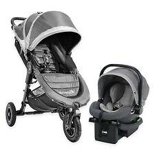 Baby Jogger 2016 City Mini GT Travel System Steel w/ Stroller & City Go Car Seat
