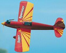 Super Sportster 40   56 in Wing  Sport  RC Model AIrplane Plans