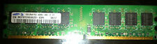 Samsung 1GB DIMM DDR2 PC2 4200U Memory Modules