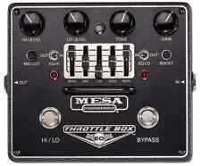 Mesa/Boogie Throttle Box EQ Overdrive Guitar Effect Pedal Graphic Equalizer