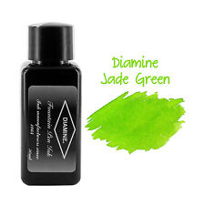 Diamine Fountain Pen Bottled Ink, 30ml - Jade Green