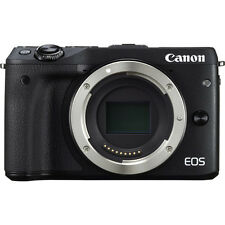 Canon EOS M3 Mirrorless Digital Camera (Body Only, Black) Brand New in Box